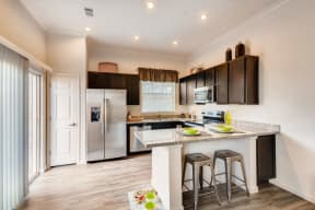 Gourmet Kitchen With Island at Avilla Northside, McKinney, 75071