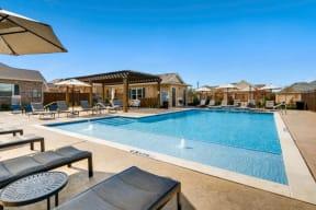 Resort Inspired Pool with Sundeck at Avilla Northside, McKinney