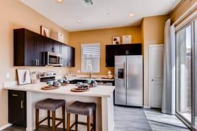 Gourmet Kitchen With Island at Avilla Deer Valley, Phoenix