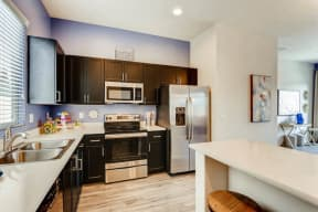 Fully Equipped Kitchen With Modern Appliances at Avilla Deer Valley, Phoenix, 85085