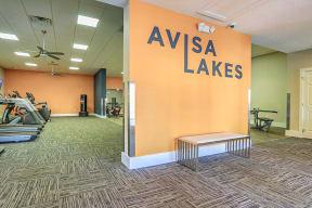 avisa lakes renovated fitness center treadmills fitness on demand cardio