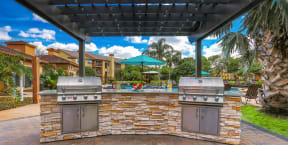 bbq grills renovated outdoor space gas grills apts orlando