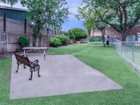 Dog Park pet friendly apartments amarillo tx