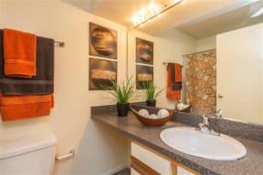 granite at porpoise bay apartments daytona beach classic bathroom