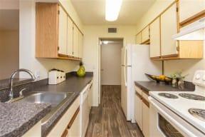 granite at porpoise bay apartments daytona beach classic kitchen
