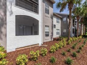 Granite at Porpoise Bay Apartments Daytona Beach patio