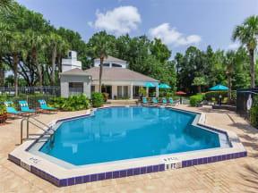 Granite at Porpoise Bay Apartments Daytona Beach pool view