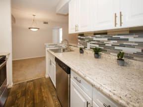 granite at porpoise bay apartments daytona kitchen counter