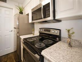 granite at porpoise bay apartments daytona model unit stove microwave