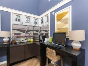 granite porpoise bay business corner in clubhouse