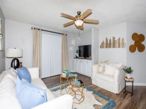 jackson square tallahassee apartments model home living room