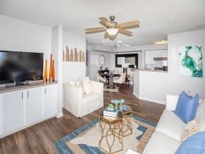 jackson square tallahassee apartments model home open floor plan