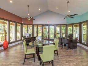lake forest apartments daytona clubhouse interior