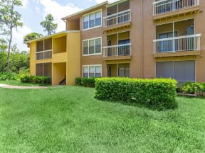 lake forest apartments daytona exterior view of balconies