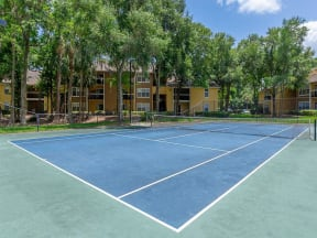 lake forest apartments daytona tennis court