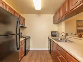 lake forest apartments daytona tranquility kitchen