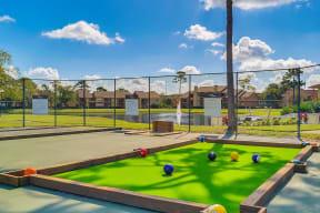 renovated snookball court sports court lake view tennis court orlando apts