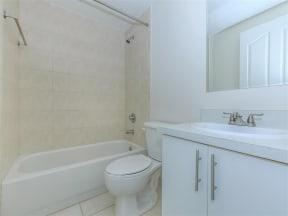 shamrock of sunrise fl apartments updated unit bathroom