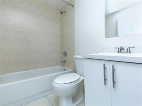 shamrock of sunrise fl apartments updated unit bathroom hardware