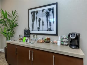 the westcott tallahassee apartments coffee bar