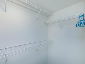 floorplan 2C model unit walk in closet