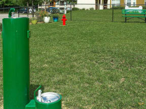 bark park water fountains