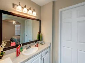floorplan 2C model unit bathroom sink