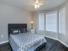 floorplan 2C model unit second bedroom