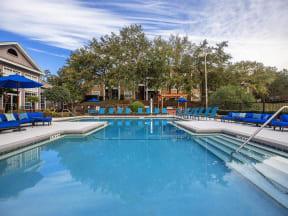 jackson square apartments pool view