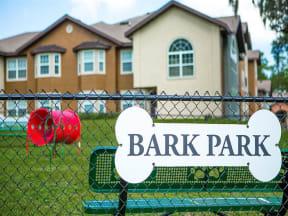the westcott tallahassee apartments pet bark park