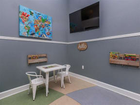 kids area in clubhouse