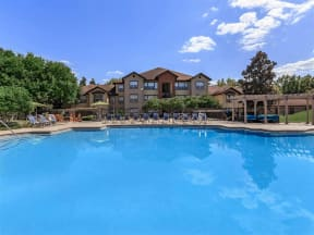 the westcott apartments pool view