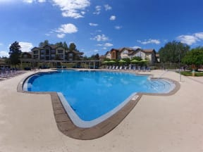 the westcott apartments pool