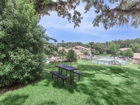 the westcott outdoor picnic area