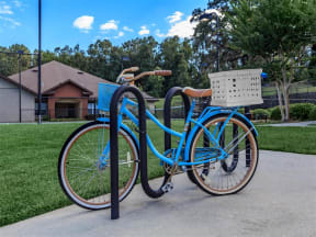 apartment community bike rack