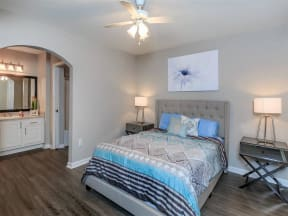 floorplan 2C model unit master bedroom