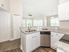 floorplan 2D model unit open kitchen