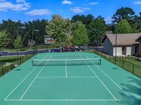 tallahassee apartments  tennis court