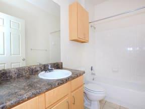 town parc amarillo 3 bedroom apartment bathroom