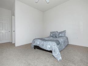 town parc amarillo mini model apartment bedroom