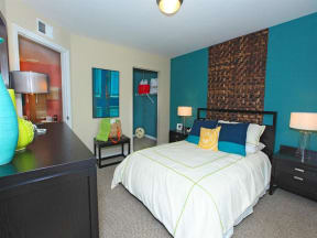 vero green apartments bedroom