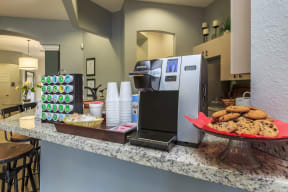 vero green apartments clubhouse coffee bar