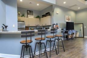 vero green apartments clubhouse kitchen bar