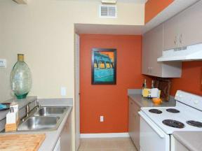 vero green apartments kitchen