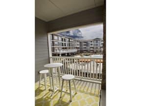 Private Patio And Balcony Overlooking At Pool at The Residence at Marina Bay, South Carolina, 29063