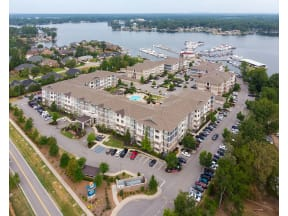 Aerial View Of Property at The Residence at Marina Bay, South Carolina, 29063