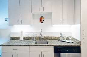Granite Countertop Kitchen at The Palms on Main, Columbia, 29201