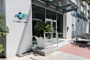 Front Entrance To Property at The Palms on Main, South Carolina