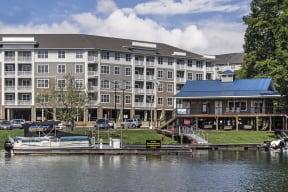 Lakeside Apartment View at Residence at Tailrace Marina, Mount Holly, North Carolina