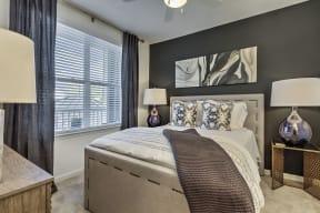 Beautiful Bright Bedroom With Wide Windows at Residence at Tailrace Marina, North Carolina, 28120